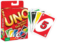 Фото Mattel Uno Карточная игра (w2087)