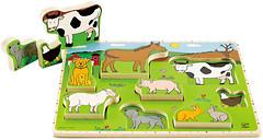 Фото Hape Животные фермы (E1450)
