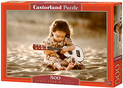 Фото Castorland Девочка с гитарой (B-52288)