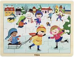 Фото Viga Toys Времена года Зима (51272)