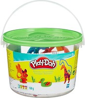 Фото Hasbro Набор пластилина из 4-х баночек Мини-ведерко (23414)