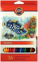 Фото Koh-i-Noor Mondeluz Акварельные карандаши Рыбки (3719)