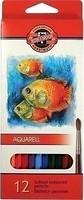 Фото Koh-i-Noor Mondeluz Акварельные карандаши Рыбки (3716)