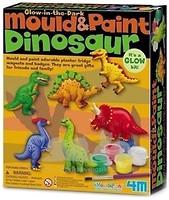 Фото 4M Фигурки из гипса на магнитах Динозавры (00-03514)