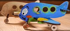 Фото Ugears 3D модель-разрисовка Аэроплан (20002)