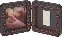 Фото Baby Art Двойная рамка с отпечатком (3601092900)