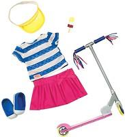Фото Battat Our Generation Набор одежды с самокатом и аксесуарами (BD30200Z)