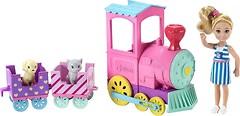 Фото Mattel Barbie Челси и поезд (FRL86)