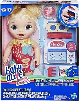 Фото Hasbro Baby Alive Малышка и еда (E1947)