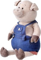 Фото Same Toy Свинка в джинсовом комбинезоне (THT711)