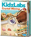 Фото 4M KidzLabs Добыча минералов Кристаллы (00-03252)