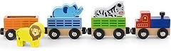 Фото Viga Toys поезд с животными (50822)