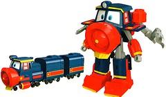 Фото Silverlit Robot Trains трансформер Victor (80186)