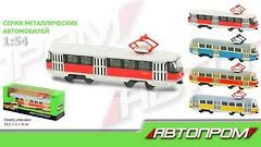 Фото Наш Автопром (1:54) трамвай (6411ABCD)
