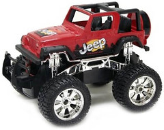 Фото New Bright Jeep Wrangler 1:24 (2424)
