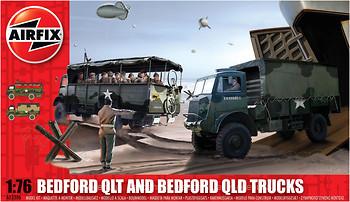 Фото Airfix Bedford QLT and Bedford QLD Trucks (A03306)