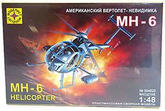 Фото Моделист Американский вертолет-невидимка MH-6 (204820)