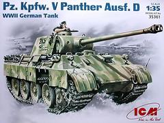 Фото ICM Pz.Kpfw.V Panther Ausf.D (35361)