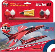 Фото Airfix RAF Red Arrows Gnat (A55105)