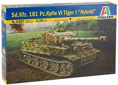Фото Italeri Sd.Kfz. 181 PzKpfw VI Tiger I Hybryd (6487)