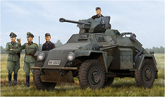 Фото Hobby Boss Le.Pz.Sp.Wg (Sd.Kfz.221) Leichter Panzerspahwagen (HB83814)