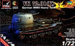 Фото Armory немецкий тяжелый танк VK 72.01 (AR-72202)