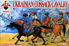 Фото Red Box Ukrainian Cossack Cavalry. 16 cent. Set 1 (RB72125)