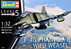 Фото Revell F-4G Phantom II Wild Weasel (RV04959)