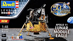 Фото Revell Model Set-Lunar Module Eagle Apollo Mission 11 (RV03701)