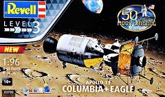 Фото Revell Model Set-Command Module Colombia and Lunar Module Apollo Eagle Mission 11 (RV03700)