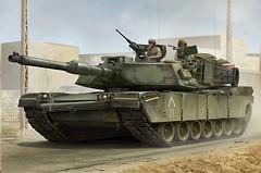 Фото Trumpeter US M1A1 AIM MBT (TR00926)