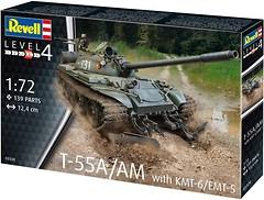Фото Revell T-55A/AM KMT-6/EMT-5 (RVL-03328)
