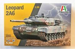 Фото Italeri Leopard 2A6 (IT6567)