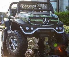Фото Kidsauto Mercedes-Benz UNIMOG 4x4 Green Camo (Unimog Green)