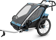 Фото Thule велоприцеп Chariot Sport 2 Blue/Black (TH 10201015)