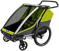 Фото Thule велоприцеп Chariot Cab 2 Chartreuse (TH 10204003)