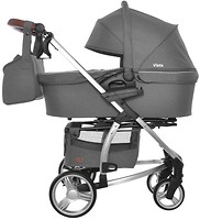 Фото Carrello 2 в 1 Vista Steel Grey (CRL-6501)