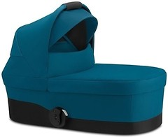 Фото Cybex Carrycot S River Blue Turquoise (520001541)
