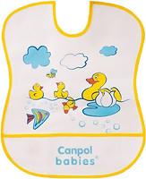 Фото Canpol babies Слюнявчик пластиковый мягкий (2/919)