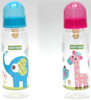 Фото Baby Team Бутылочка с латексной соской 250 мл (1310)
