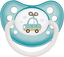 Фото Canpol babies Пустышка латексная анатомическая Toys 6-18 мес. (23/260)