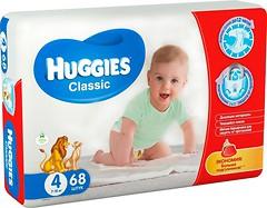 Фото Huggies Classic 4 (7-18 кг) 68 шт