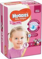 Фото Huggies Ultra Comfort 5 для девочек (15 шт)