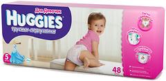 Фото Huggies Трусики-подгузники для девочек 5 (48 шт)