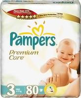 Фото Pampers Premium Care Midi 3 (80 шт)