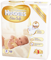 Фото Huggies Elite Soft 2 (88 шт)