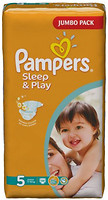 Фото Pampers Sleep&Play Junior 5 (58 шт)