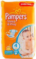 Фото Pampers Sleep&Play Maxi 4 (7-14 кг) 68 шт