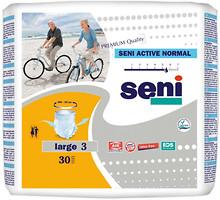 Фото Seni Подгузники-трусы для взрослых Active Normal Large (100-135 см) 30 шт