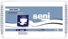 Фото Seni Подгузники для взрослых Basic Large (100-150 см) 30 шт